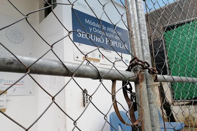Sepulta Barbosa a Seguro Popular en Puebla tras llegada del Insabi