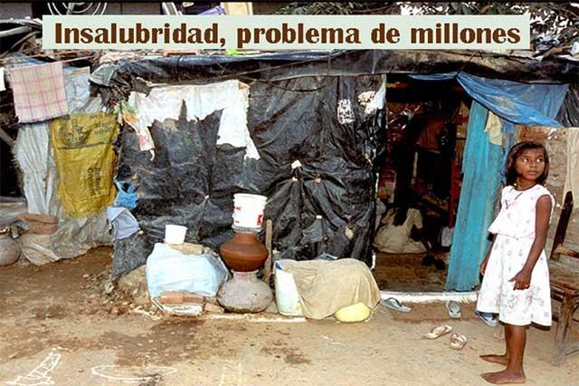 Insalubridad causa miles de millones de muertes en el mundo
