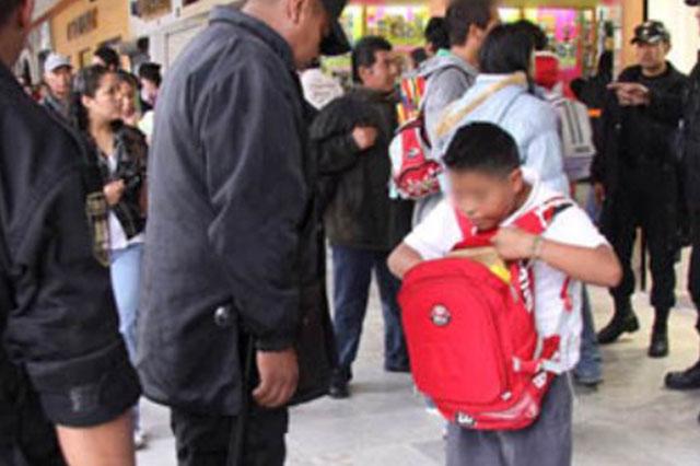 Los niños no se sienten seguros en las calles, revela encuesta del INE