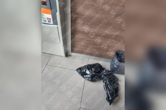 Movilización por sospecha de bomba en Banregio Vía Atlixcáyotl