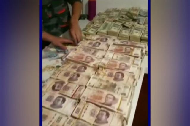 Banda de colombianos roba 90 mdp en domicilio de Puebla