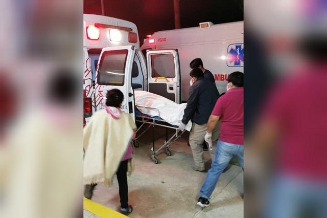 Muere policía municipal de Zoquitlán en volcadura de patrulla