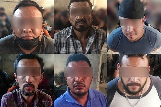 Detectan a 186 migrantes y 6 polleros en San Aparicio