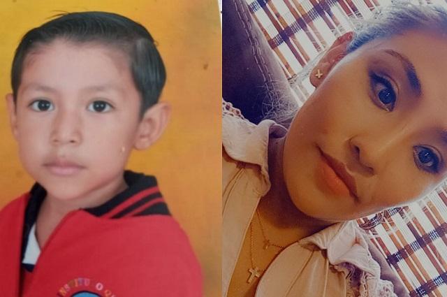 Buscan a madre e hijo que desaparecieron en Puebla