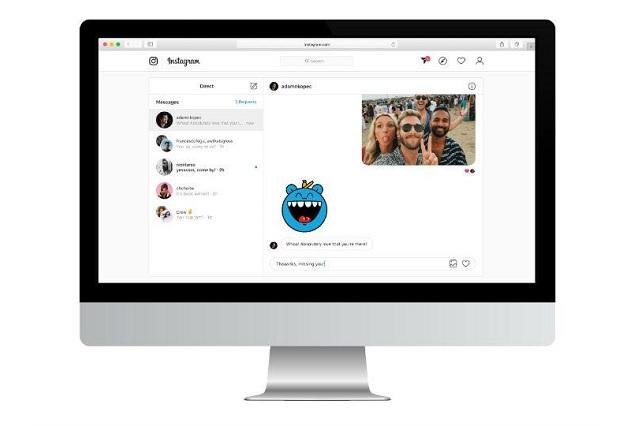 Ya es posible enviar mensajes directos en Instagram desde una PC