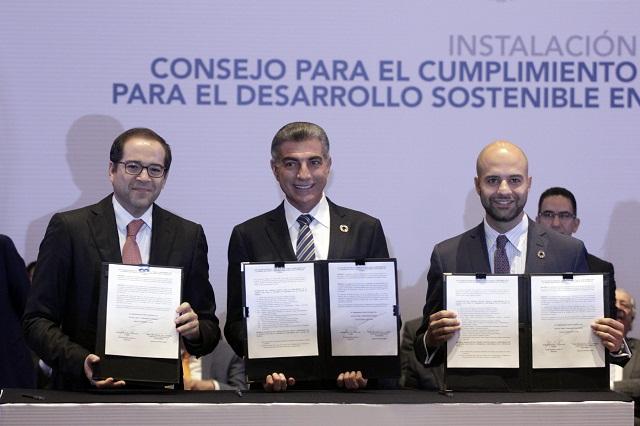 Instala Gali el Consejo en Puebla para cumplir la Agenda 2030