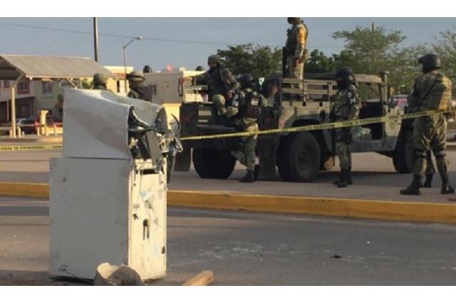 Fallan en intento de robar cajero automático; lo dejan tirado a media calle