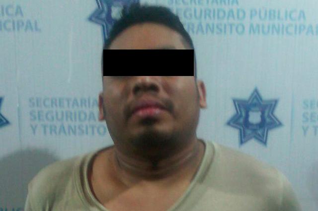 Intentó robar en una casa en la América Norte y fue detenido