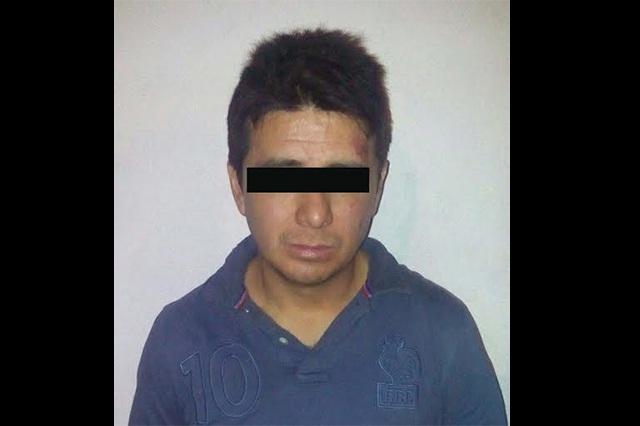 Frustran robo en San Manuel y hay un detenido