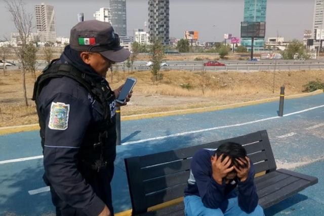 Frustran intento de suicidio en ciclovía del Periférico