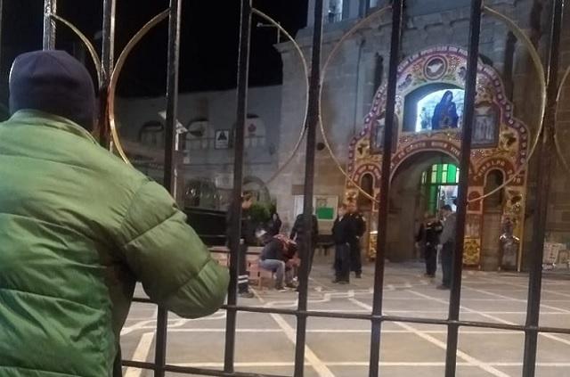 En Chimalpa intentan linchar a sujeto que robó limosnas de un templo