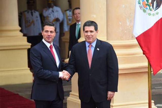 Ratifican México y Paraguay respaldo para potenciar el intercambio comercial