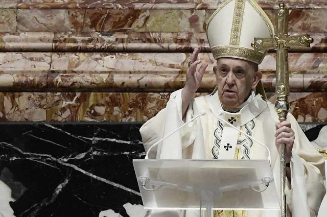 Interceptan carta con balas dirigida al papa Francisco