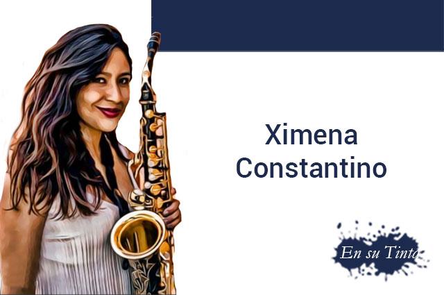 """""""El saxofón es la luz que me ha abierto las puertas del mundo"""": Ximena Constantino"""