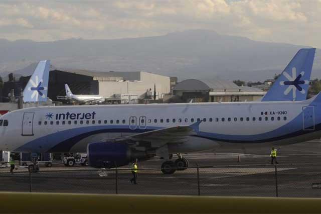Interjet prevé retrasos y cancelaciones por revisión de la mitad de su flota