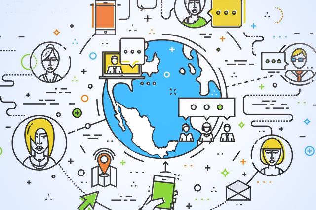 Hasta 8 horas diarias pasan mexicanos conectados a internet