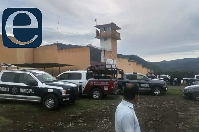 Internos riñen por control del penal de Huauchinango