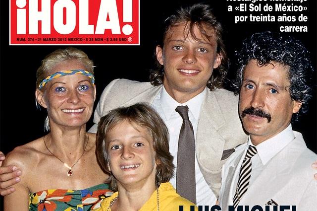 Mamá de Luis Miguel está viva y tiene 2 hijos más: ex de la Interpol