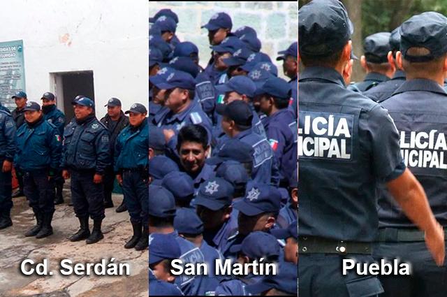 Revisará Barbosa a policías de la capital, Texmelucan y Serdán