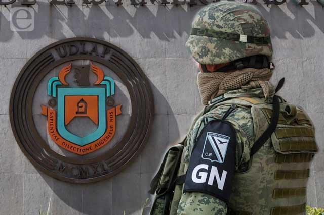 Solicitan liberar con apoyo de la GN a la UDLAP