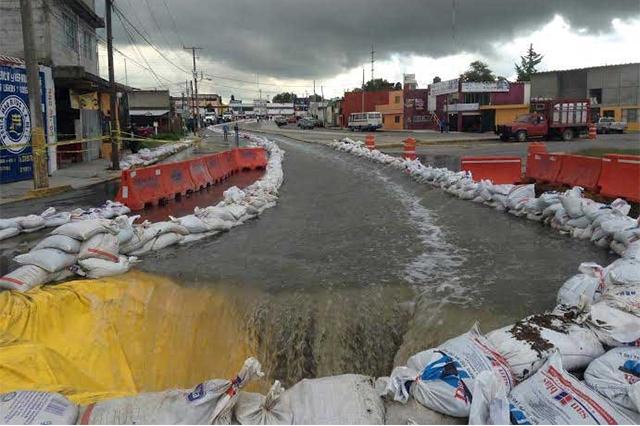 Limpiarán zonas inundables en Puebla hasta después de abril