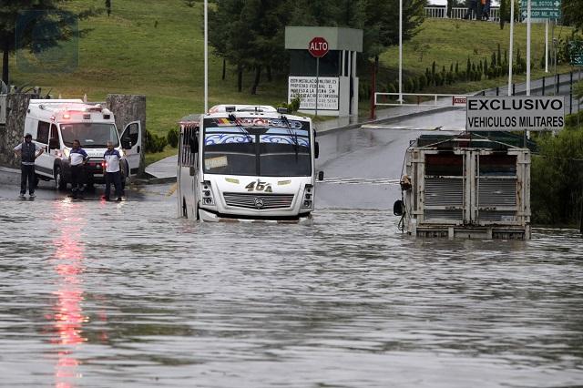 Puebla, pendiente de lluvias y de actividad en el Popocatépetl