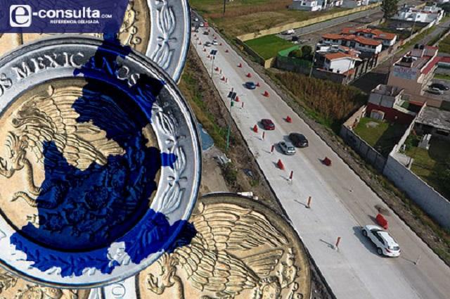 Castiga la federación obras de Pemex y carreteras en Puebla