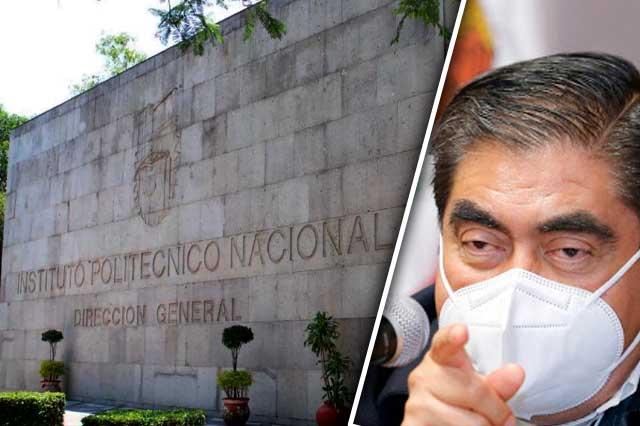 Socavón genera discordia entre IPN y el gobierno del estado