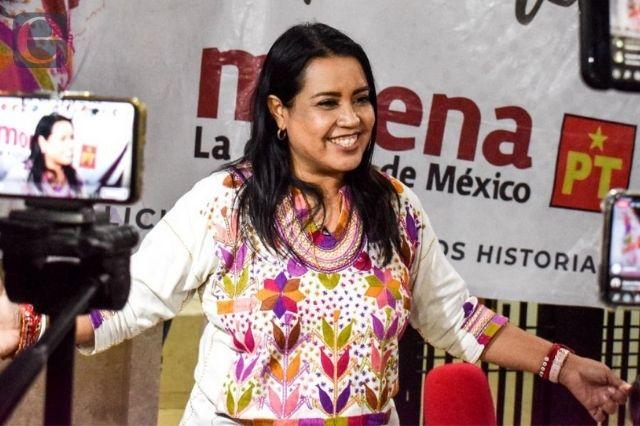 Ratifica TEEP la elección de Irene Olea en Izúcar
