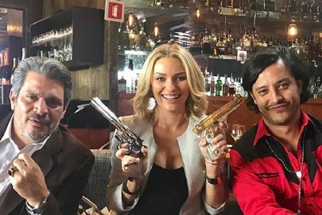 Atacan a actor por compartir foto al lado de Irina Baeva