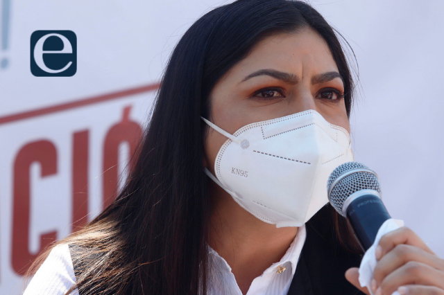 Claudia promete involucrar a vecinos en seguridad pública