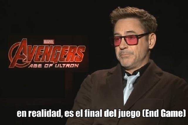 Robert Downey Jr. lanzó spoiler en 2015 y no nos dimos cuenta