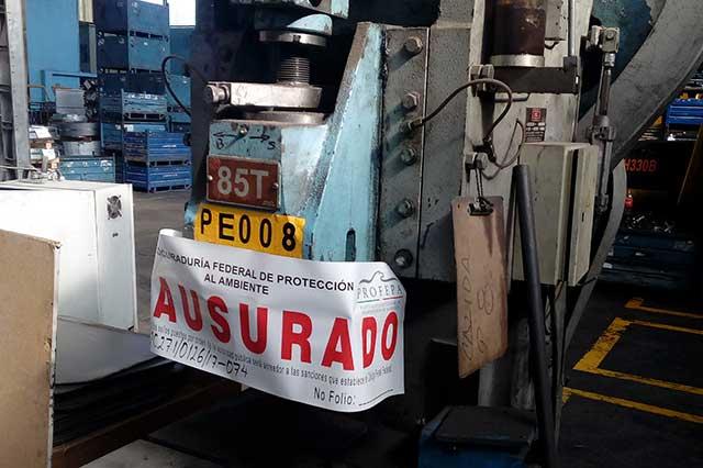 Por manejo irregular de residuos peligrosos Profepa sanciona a empresa