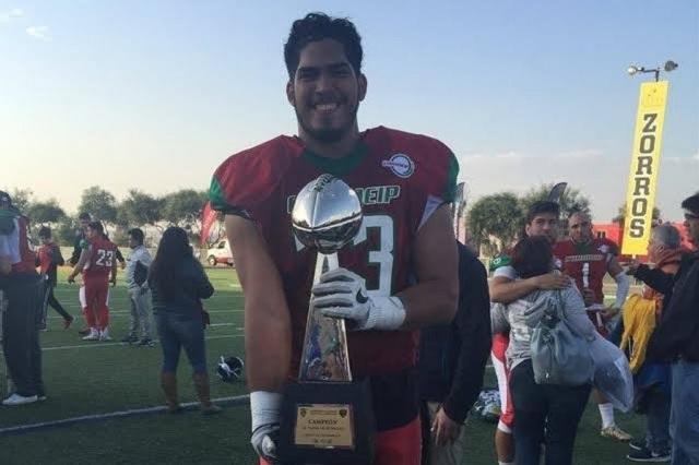 Foto: Él es Isaac Alarcón, el jugador mexicano que probará suerte en la NFL