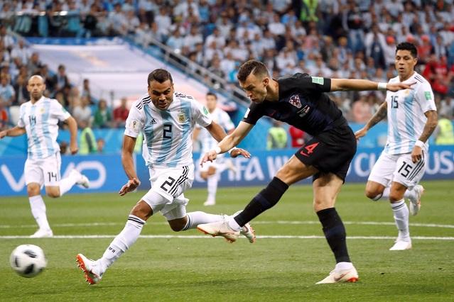 Croacia derribó los sueños de Islandia, le ganó 2-1 y lo eliminó