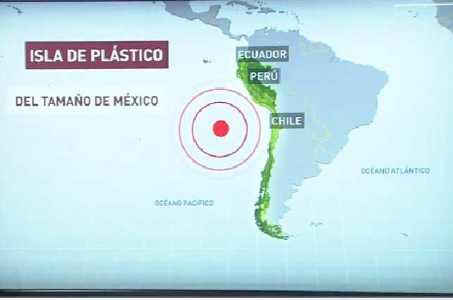 Descubren isla de plástico del tamaño de México y alertan peligro