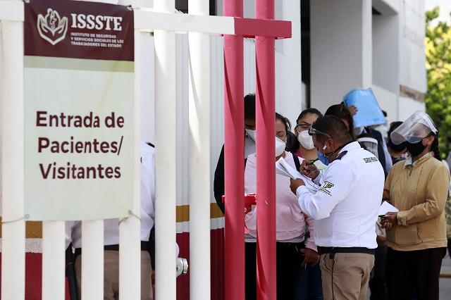 Acusan falta de personal en ISSSTE Puebla por licencias injustificadas