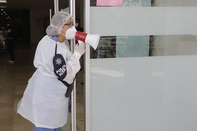 Deja fin de semana 584 nuevos casos por Covid-19 en Puebla