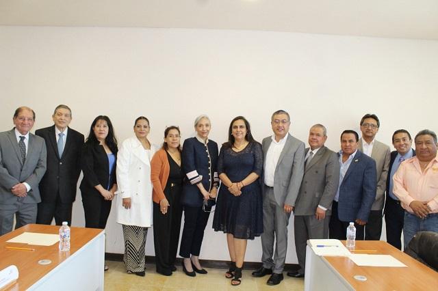 Karen Berlanga llega a Dirección General del ISSSTEP