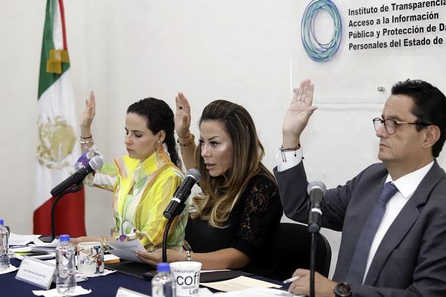 Incumplen con transparencia Teziutlán y Huejotzingo: ITAIP
