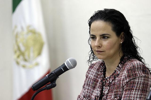 Ordena Itaip transparentar sueldo desglosado de Claudia Rivera