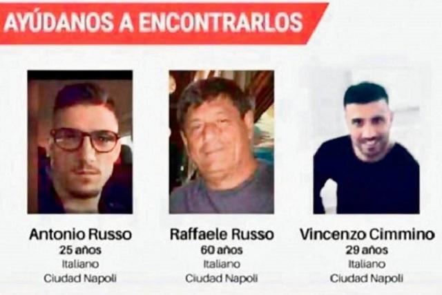 Capturan a El 15, acusado de desparecer a 3 ciudadanos italianos
