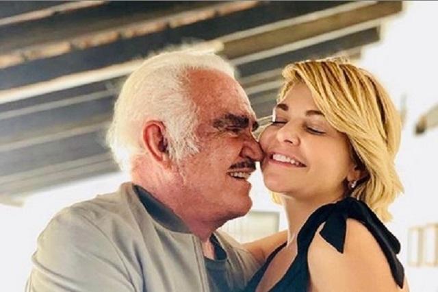 Itatí Cantoral confirma dueto con Vicente Fernández