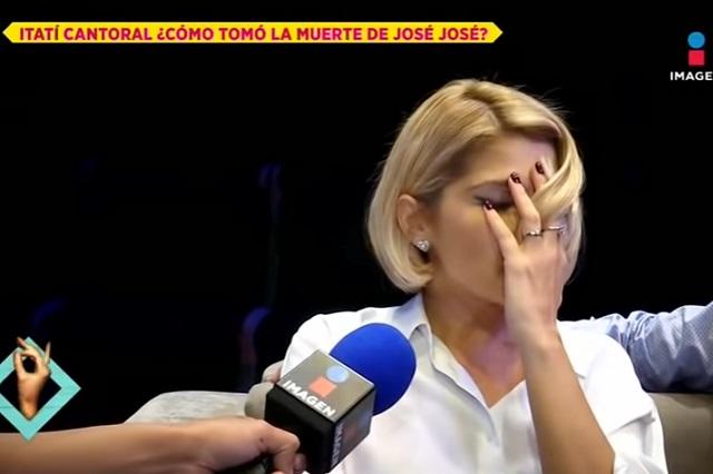 Califican de imprudente a reportero que entrevistó a Itati Cantoral