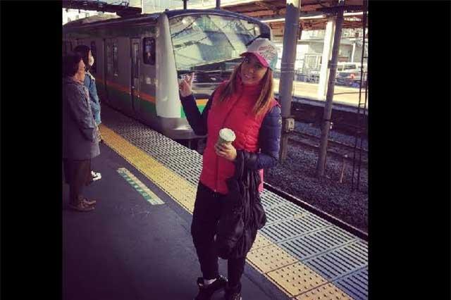 Itzel Sandino deja atrás a #LadyJochos y se divierte en Japón