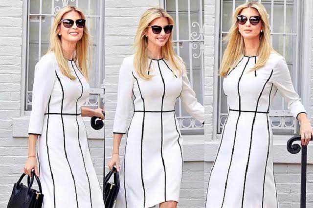 Ivanka Trump se puso un vestido de 35 dólares y fotos se viralizaron