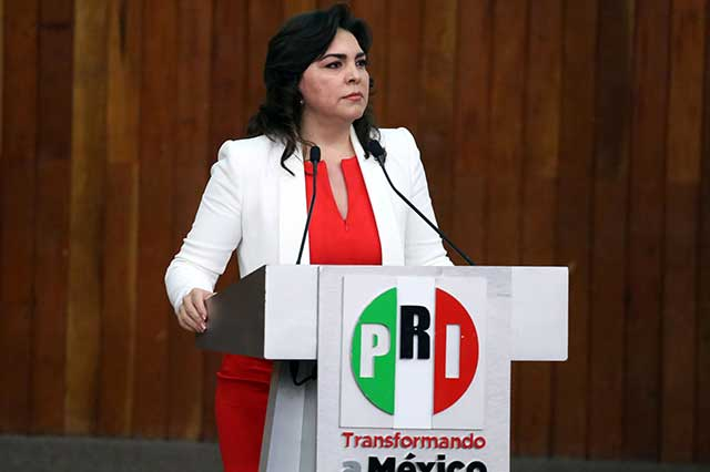 Confirma Ivonne Ortega que buscará la candidatura del PRI a la Presidencia