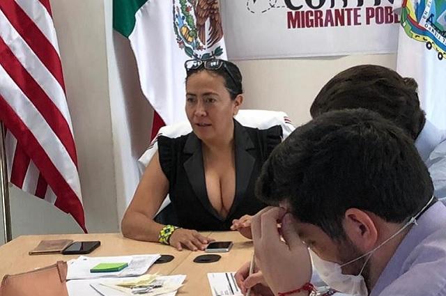 Exhiben a directora del IPAM haciéndose pedicura en su oficina
