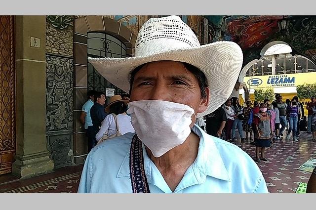 Pobladores de Santa Ana Teloxtoc exigen obras públicas