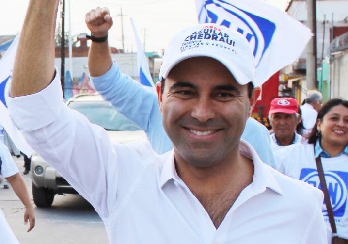 Votar por quien ha cumplido compromisos, exhorta Aguilar Chedraui
